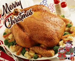 Christmas chicken